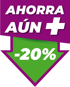 Icono Ahorra un 20%