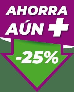 Icono Ahorra un 25%