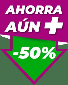 Icono Ahorra un 50%