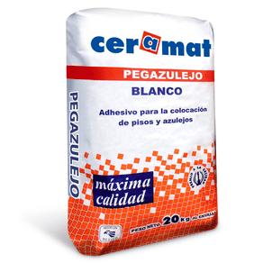 Pegazulejo  Blanco 20 Kgs